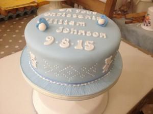 christening cake 6