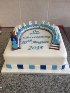 christening cake 3