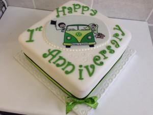 anniversary cake 1