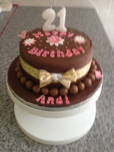Birthday Cake Chocolate 1