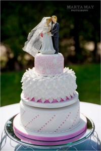 floral wedding cake 4