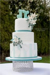 floral wedding cake 7